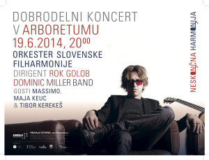 Dominic Miller band, Rok Golob, Maja Keuc, Massimo & Slovenian Philharmonic Orchestra